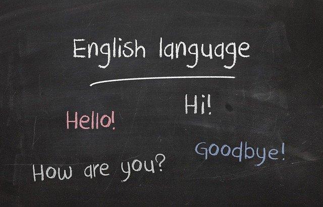 anglický jazyk pozdravy