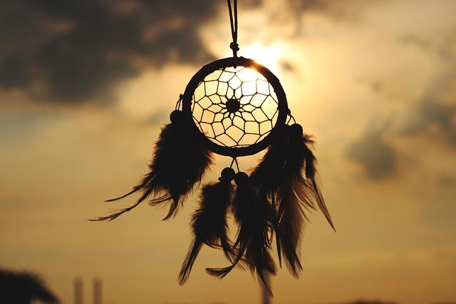 lapač snů a sluníčko