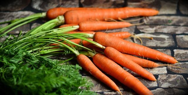 zdravá mrkev