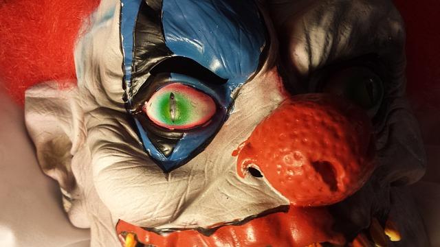 děsivý klaun
