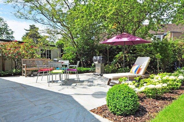 zahrada pro odpočinek