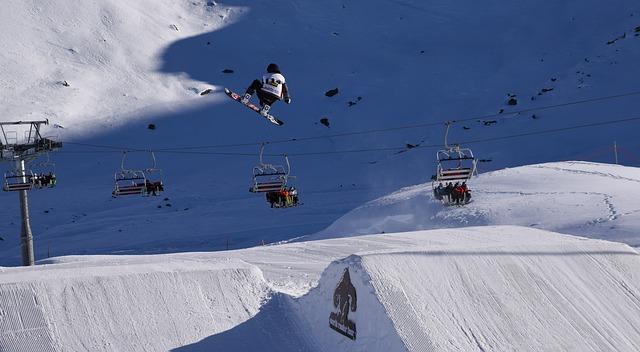 můstky pro snowboard