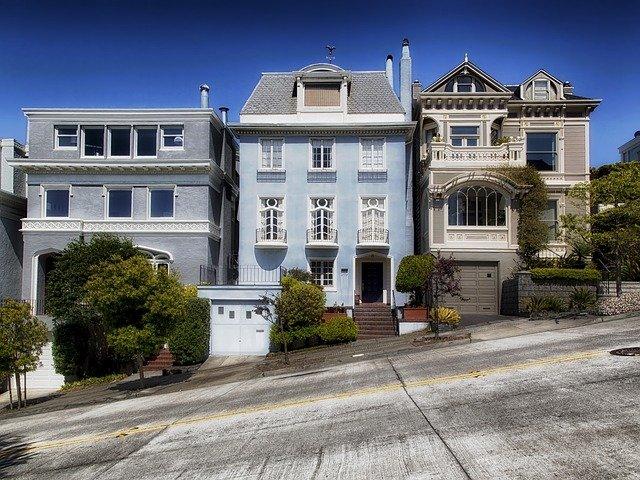 domy v San Franciscu